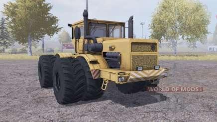 Kirovets K 700A ruedas duales para Farming Simulator 2013