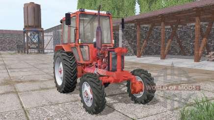 MTZ 82 v1 sin la capucha.1 para Farming Simulator 2017