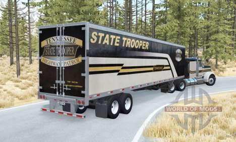 Gavril T-Series Tennessee State Troopers para BeamNG Drive