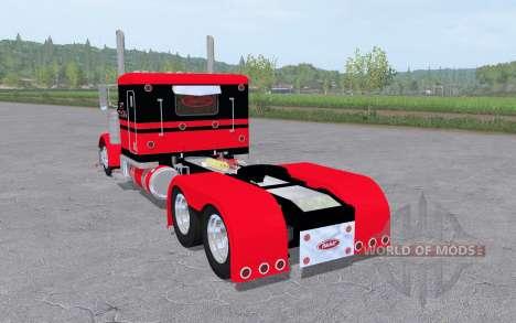 Peterbilt 379 Flat Top 6x6 para Farming Simulator 2017