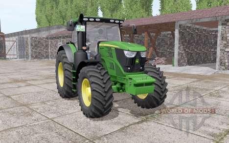 John Deere 6195R v2.0 para Farming Simulator 2017