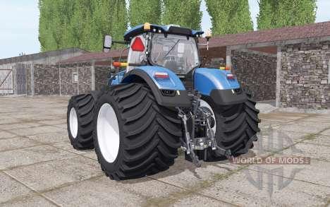 New Holland T7.290 De Servicio Pesado para Farming Simulator 2017