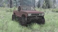 Ford Ranger 1982 lifted para MudRunner