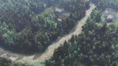 La carretera a lago Blanco