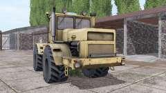 Kirovets K-700A interactivo de control v2.0 para Farming Simulator 2017