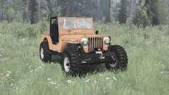 Jeep CJ-2A 1945 para MudRunner