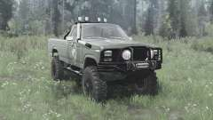 Ford F-150 Ranger 1982 lifted para MudRunner