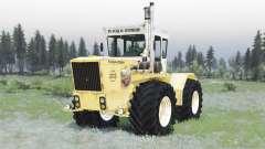 RABA Steiger 250 yellow-white para Spin Tires