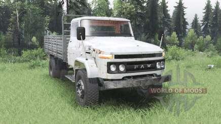 FAW Jiefang J2 para Spin Tires