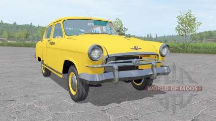 GAZ 21 Volga Taxi 1956 v1.3 para Farming Simulator 2017