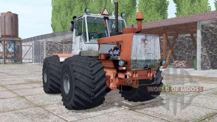 T-150K con una cuchilla para Farming Simulator 2017