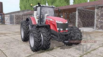 Massey Ferguson 8732 new sound para Farming Simulator 2017