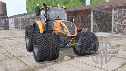 New Holland T5.120 Gamling Edition para Farming Simulator 2017