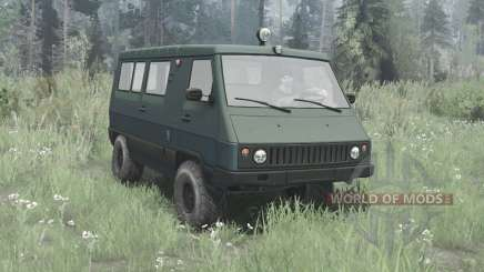UAZ 3972 Vagón de 1990 para MudRunner