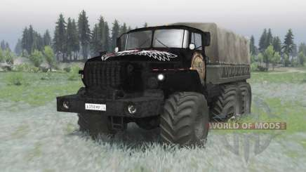 Ural 4320 v2 OneShot.0 para Spin Tires