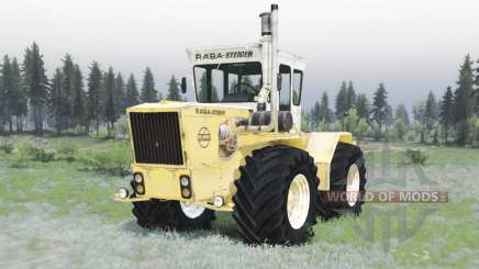 RABA Steiger 250 yellow-white para Spin Tires
