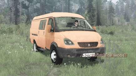 GAZ 2705 Gacela 2003 para MudRunner