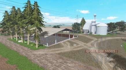 Fazenda Ponte Pedra para Farming Simulator 2017