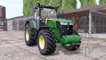John Deere 7230R interactive control para Farming Simulator 2017