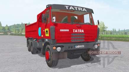 Tatra T815 S3 6x6 1982 para Farming Simulator 2017