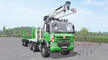 Tatra Phoenix T158 timber truck para Farming Simulator 2017