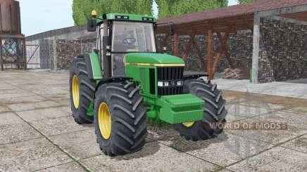 John Deere 7610 interactive control v2.0 para Farming Simulator 2017