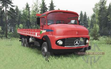 Mercedes-Benz L 1216 v2.0 para Spin Tires
