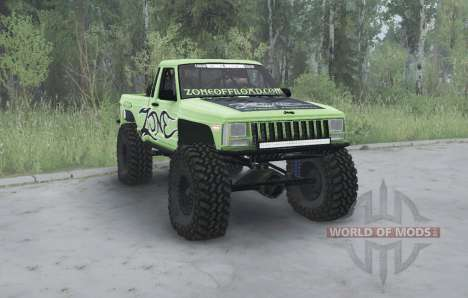 Jeep Comanche (MJ) 1984 lifted para Spintires MudRunner