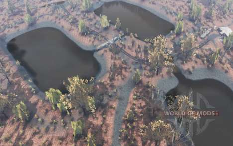 Otoño en el Outback para Spin Tires