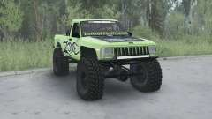 Jeep Comanche (MJ) 1984 lifted para MudRunner